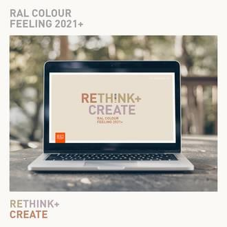 RAL COLOUR FEELING 2021: <em>re</em>Think + Create